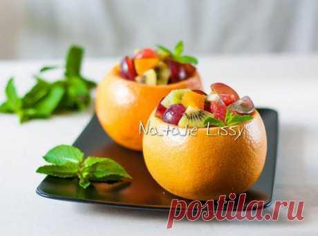 Фруктовый салат с медово-пряным соусом — рецепт с пошаговыми фото. Foodclub.ru