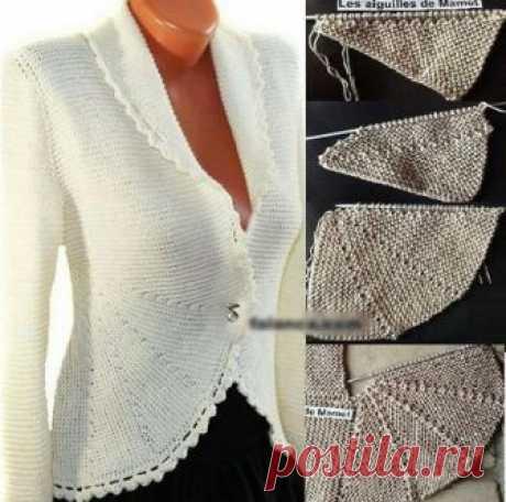 (2) СТИЛЬНОЕ ВЯЗАНИЕ спицами и крючком - Knitting & Crochet