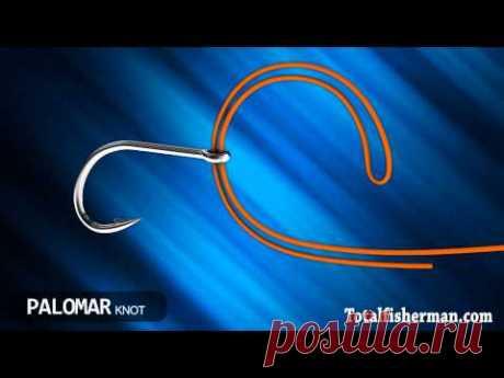 Лучший рыболовный узел. Паломар - видео онлайн