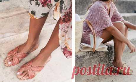 Хит сезона: плетеная обувь — Модный приговор