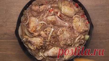 ГУРУЛИ - очаровательное блюдо грузинской кухни из курицы.