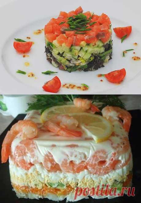 Салаты с авокадо - 5 рецептов с фото.