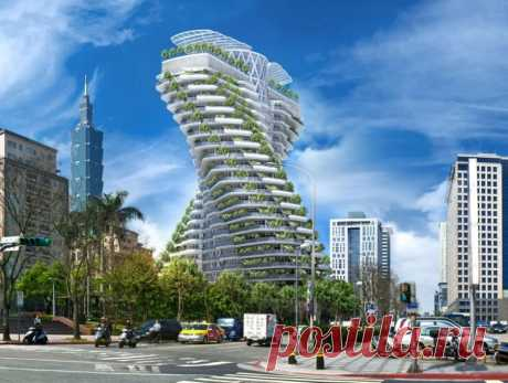 Башня Agora Garden в Тайване