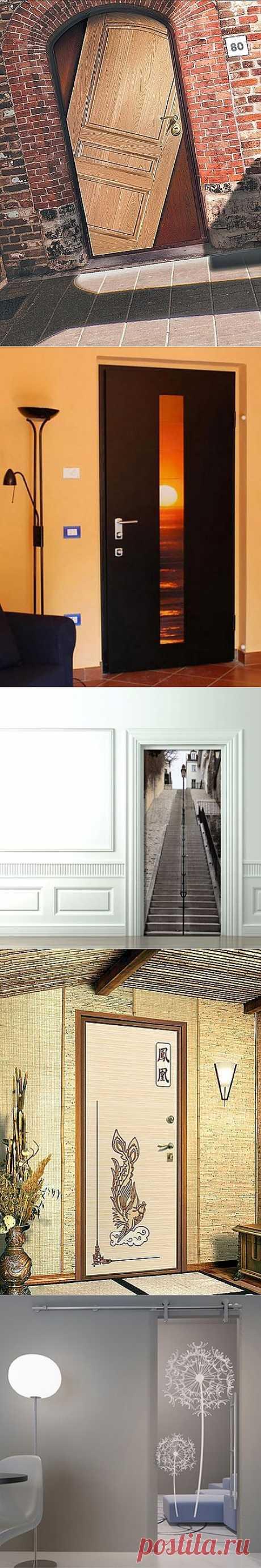 Оригинальные двери в вашем интерьере | Интерьер и Дизайн