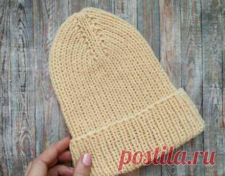 Как подготовиться к холодам. Стильная шапка на осень спицами » «Хомяк55» - всё о вязании спицами и крючком