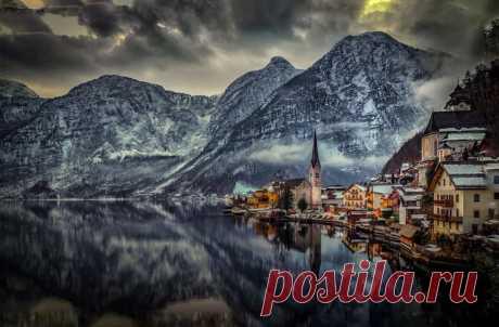 Суперлуние и самая красивая деревня Австрии   ПИЛИГРИМ   Яндекс Дзен
