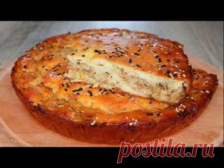 Тесто для заливных пирогов на сметане Яйца - 3шт. Сметана – 300 гр. Мука – 120 гр. Соль – 1/3 ч.л. Разрыхлитель теста – 10 гр.