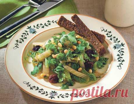 Теплый салат из пекинской капусты – рецепты - Рецепты