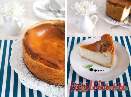 Очень вкусный сырный пирог без сыра