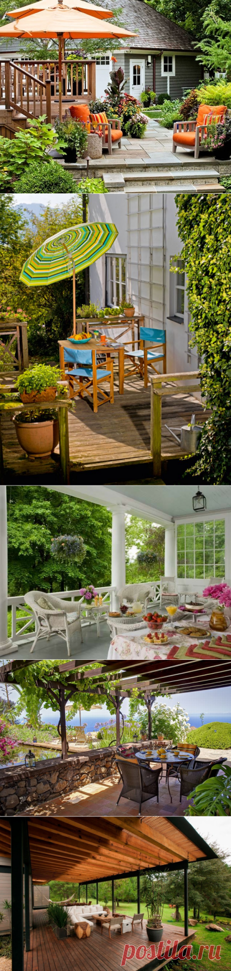 Terrace and verandah for the house – in search of ideas for inspiration
