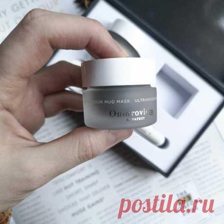 Лечебная маска Omorovicza Ultramoor Mud Mask - отзыв | Блог о косметике и красоте Dareas Beauty