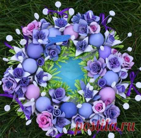 Поделки своими руками - Цветы из яичных лотков