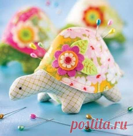 Игольница-черепаха (Шитье и крой) | Журнал Вдохновение Рукодельницы