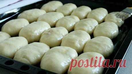 Маленькие пирожки. Тесто за 20 минут и с секретиком картофельная начинка