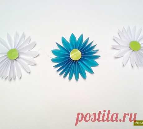 """La guirnalda \""""las Flores\"""""""