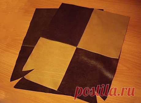 Кожаная сумка своими руками (164 фото): выкройка, как сшить из кожи и кожзама, мастер-класс из кусочков, декупаж женской сумки