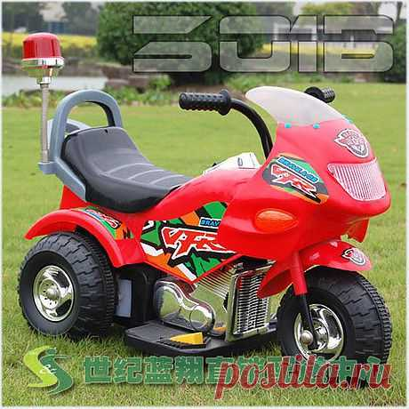 Детский мотоцикл! При входе в магазин, сделайте регистрацию.