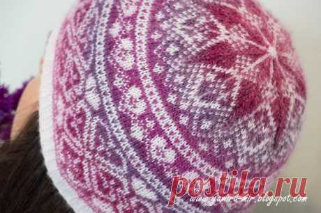 Жаккардовая шапочка — Рукоделие