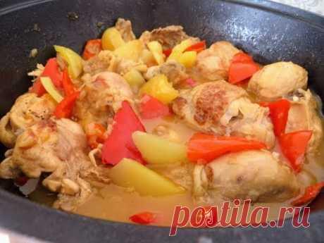 Ахмурительная курица! Рецепт вкуснейшего обеда