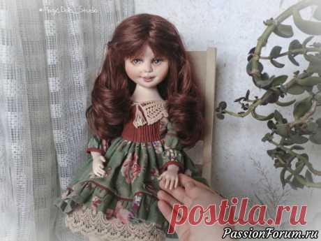 Авторская коллекционная кукла ручной работы   Куплю-продам