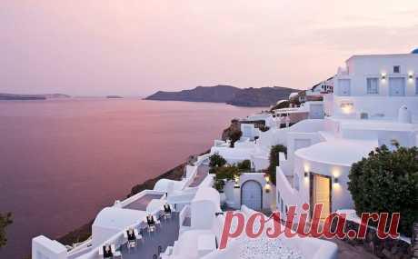 Прекрасный Санторини, Греция - Путешествуем вместе
