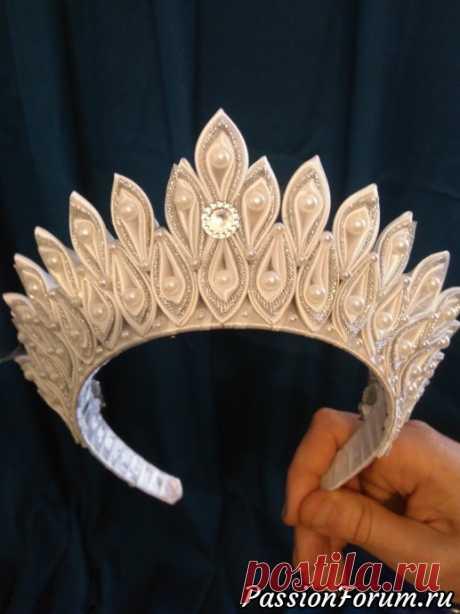 Короны для принцесс. - запись пользователя katara-1 (Анна) в сообществе Новый год в категории новогодние подарки,поделки и костюмы