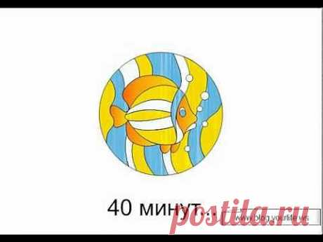 ▶ the Sketch of the Stained-glass window in CorelDraw. A fragment - YouTube