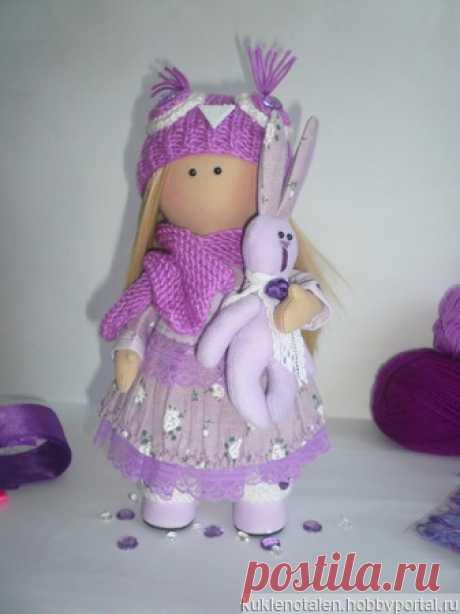 Игровая кукла ручной работы – купить в интернет-магазине HobbyPortal.ru с доставкой