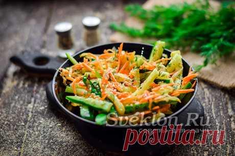 Блюда с корейской морковью