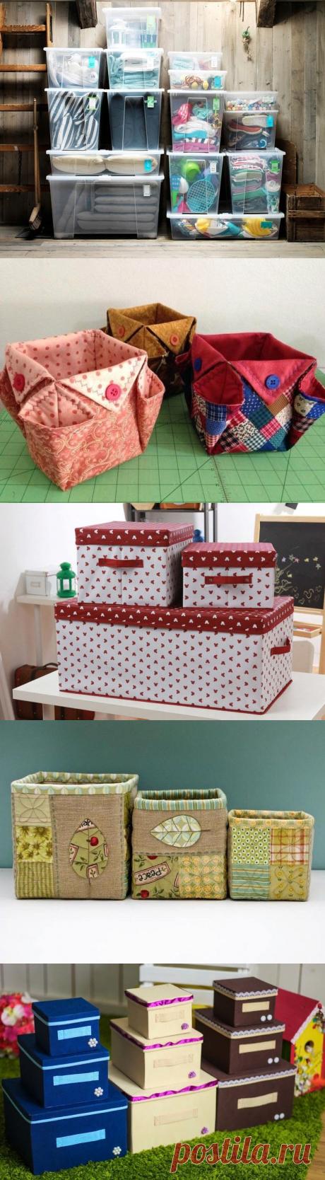 Идеи по изготовлению удобных и красивых коробок для хранения вещей: декор деревянного и бумажного ящика