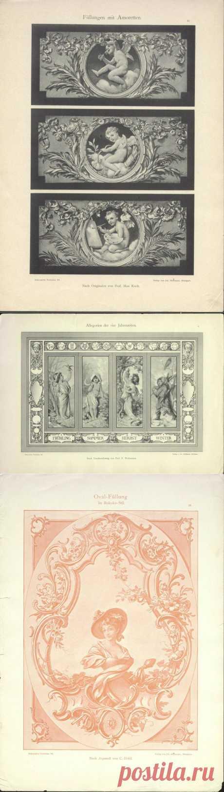 Старинные принты. 1895 год