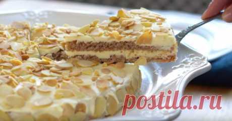 Шведский торт с миндалем - Со Вкусом