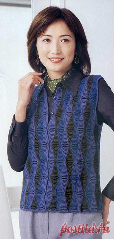 204465184cdd Красивое рукоделие для дома, сочетание ткани и вязания крючком ...