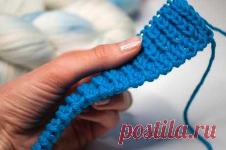 Знающие вязальщицы приберегли этот метод для себя: фабричный набор петель для резинок 1х1 в 2х вариантах. | Первый вязальный! | Яндекс Дзен