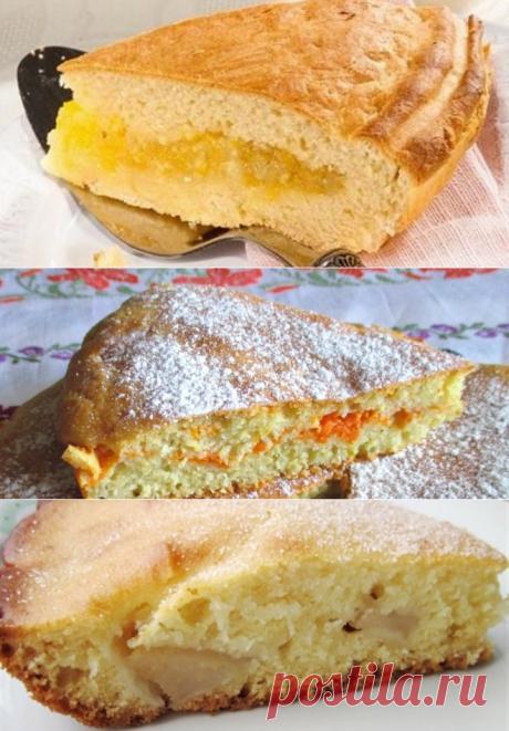Пирог на кефире в духовке - оригинальные рецепты теста и начинок для домашней выпечки.
