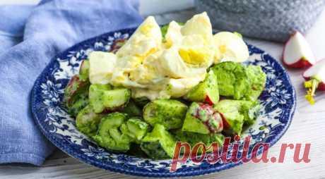 Ресторанное блюдо из пучка редиса: бесподобный салат который хочется есть каждый день