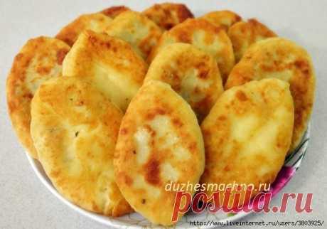 Секрет МЯГУСЕНЬКИХ пирожков с картофелем и печенью: раз попробуете - влюбись навсегда! Этот рецепт — мой самый любимый рецепт пирожков на сковороде...