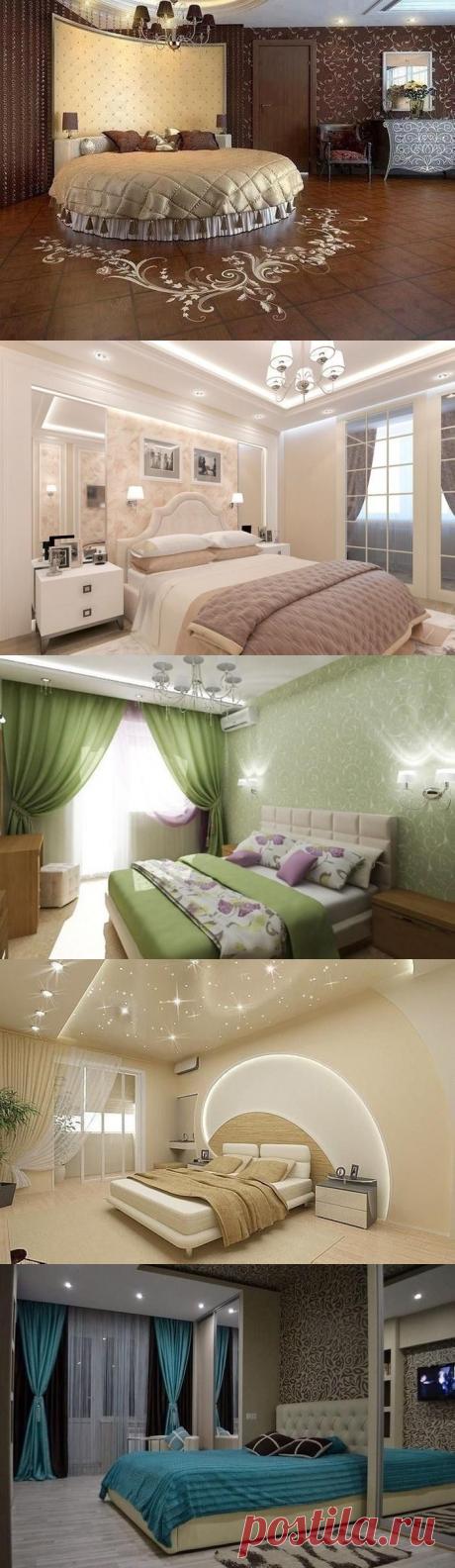 Спальня — место, где должно быть уютно и комфортно. 25 потрясающих идей для ремонта | Тысяча и одна идея