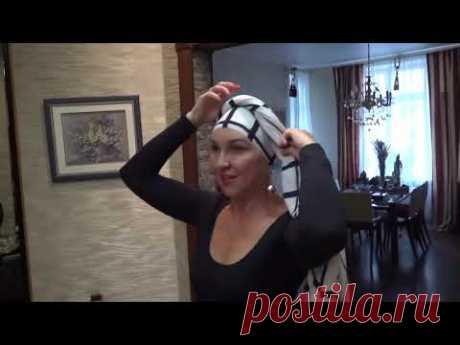 Как красиво завязать шарф палантин
