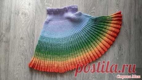 Весенняя юбка для внучки. - Вязание для детей - Страна Мам