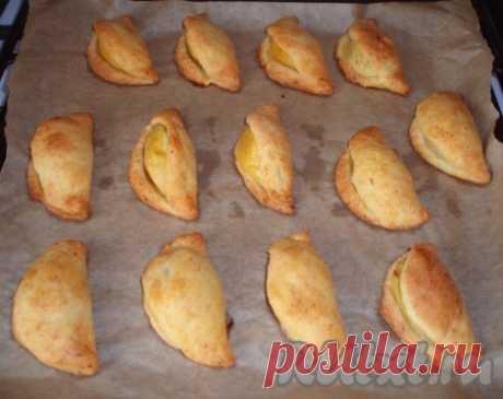 Творожное печенье с яблоками и сгущенкой - так просто и так вкусно!