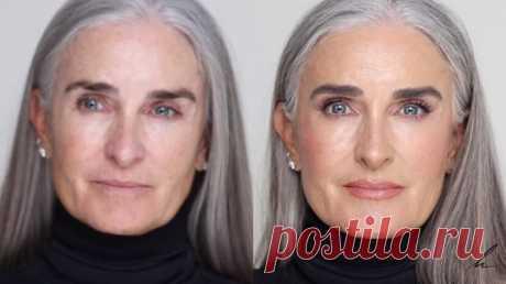 Визажист показал, как краситься в зрелом возрасте, чтобы выглядеть эффектно   LADY DRIVE 🎯   Яндекс Дзен
