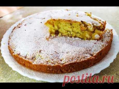 ПАЛЬЧИКИ ОБЛИЖЕШЬ!!! Домашний Пирог с Яблоками/Яблочный Кекс