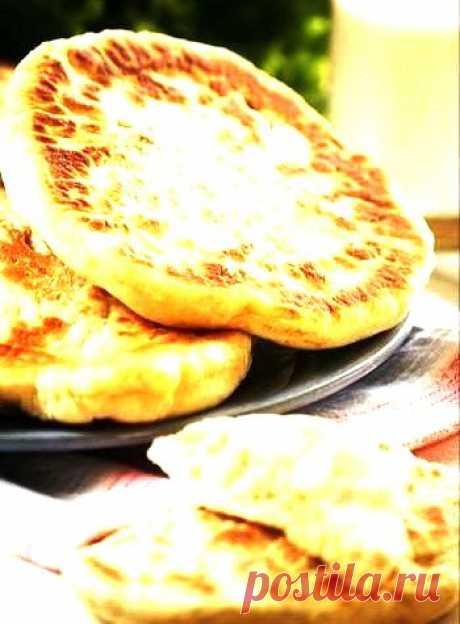 Простой рецепт лепешек на сметане | Банк кулинарных рецептов