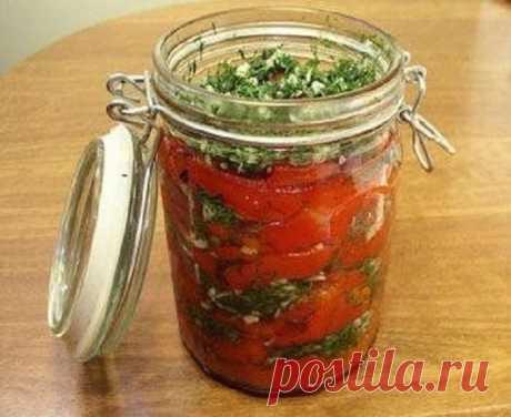 (+2) Перец болгарский с чесноком на зиму. Если готовить перец, то только так!