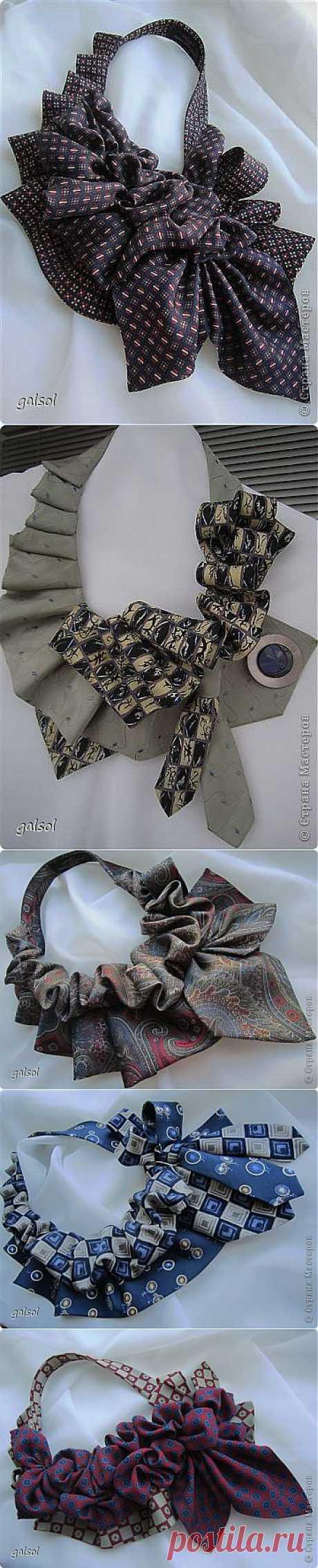 Новое начало галстуков (мои переделки )   Страна Мастеров