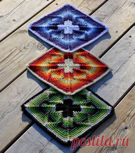 """The """"Nomad by Fate"""" square – Free Pattern Inside – Martin Up North"""