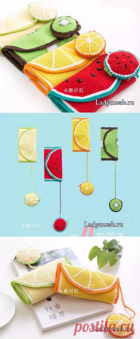 Органайзер крючком для рукоделия: схемы | Ladynweb.ru