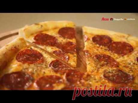 """Рецепт пиццы """"Пепперони"""" от бренд-шефа ресторана """"Пицца-Пи"""""""