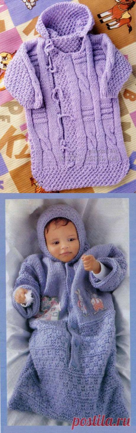 "Knitting for newborns. Envelopes. - On September 14, 2014 - Needlework by the hands - ""Магия Творчества""-информационный a portal."